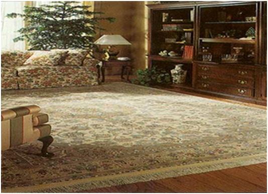 مطابقت رنگ فرش با دکوراسيون